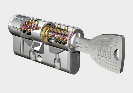 serratura con cilindro europee