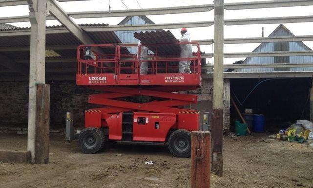 Specialist asbestos removals