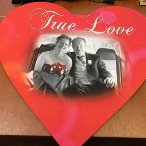 bespoke true love print