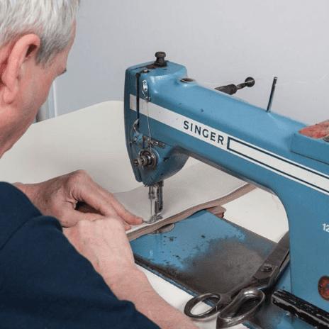 Upholstery stitching