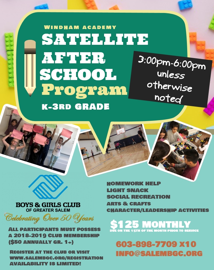 Windham Academy Satellite After School Program