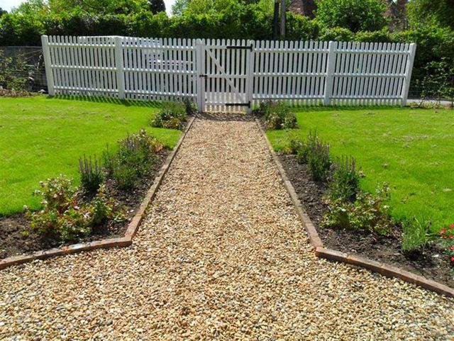 Garden design completed by professionals