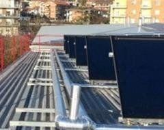 pannelli solari-vista frontale