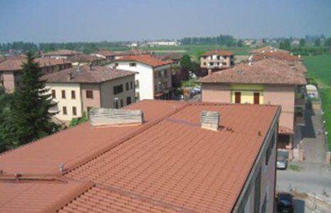 Dopo la riparazione , il tetto le proteggerà di qualsiasi inclemenza
