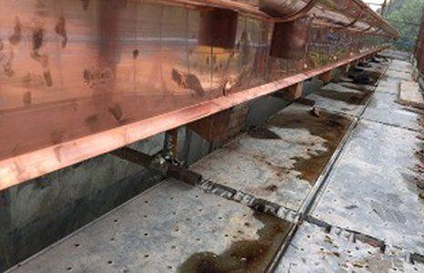 Rivestimento di ottone per il sistema di drenaggio di pioggia