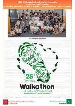 2016 Chubu Walkathon Report