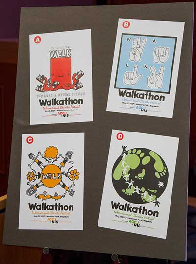 2017 Chubu Walkathon T-Shirt design submissions