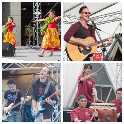 Live bands and music at Chubu Walkathon