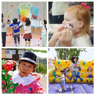 Childrens activities at the Chubu Walkathon