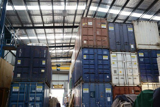 Our pest proof storage facility in Sydney