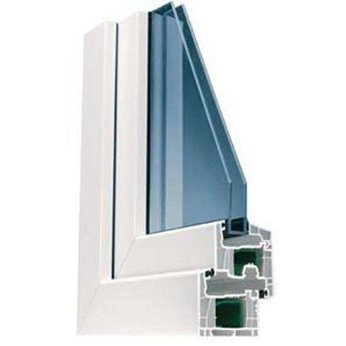 campione di finestra per l'isolamento termico