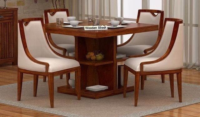 5 Reasonable 4 Seater Dining Table Sets Online