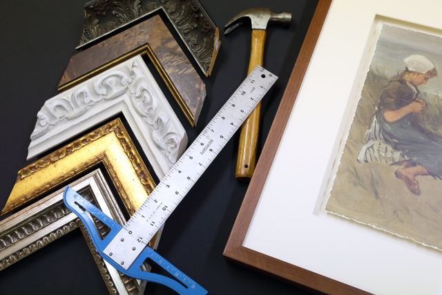 custom framing, needlepoint framing - My Workshop Custom Picture Framing