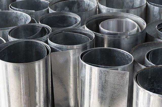 fogli di alluminio della Lavorazione lamiere spa di Modugno