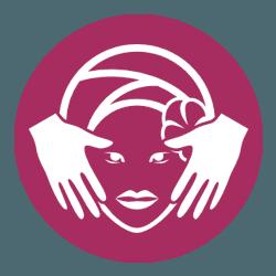 Icona di un trattamento viso