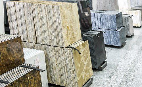 dei blocchi di marmo