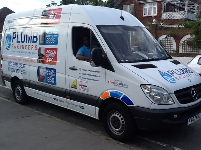 Plumb Engineers Van
