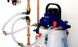 Water tank installation and repair