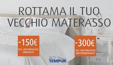 Promozioni materassi e cuscini - Milano - Tempur Store Multimediale ...
