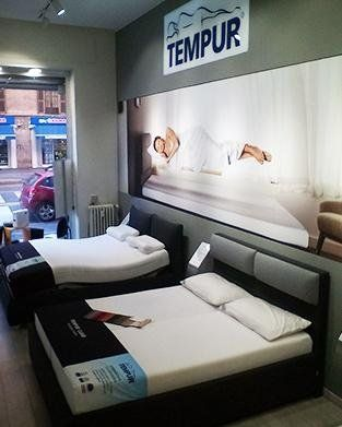 Materassi Memory Foam Tempur.Vendita Materassi Milano Tempure Store Multimediale Deretti