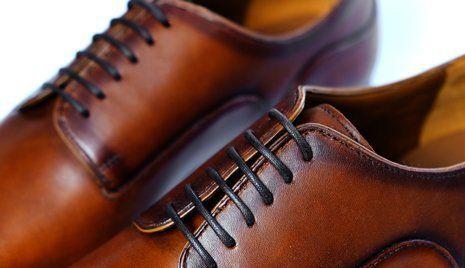 scarpe in cuoio da uomo