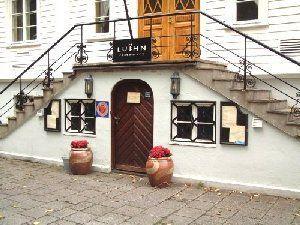 Inngangen til restaurant Lui:hn i kristiansand