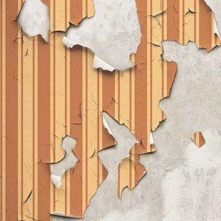 Damaged wallpaper