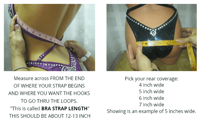 How to measure for a figure posing suit