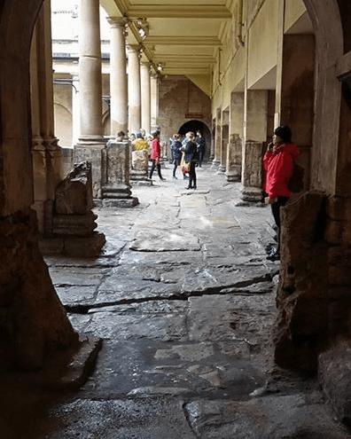 Group travel Roman Baths, Bath