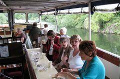 Day trip cruising River Thames