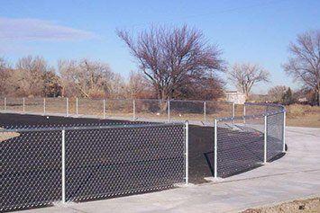 Commercial Fence Aztec Nm Fence Tech Llc