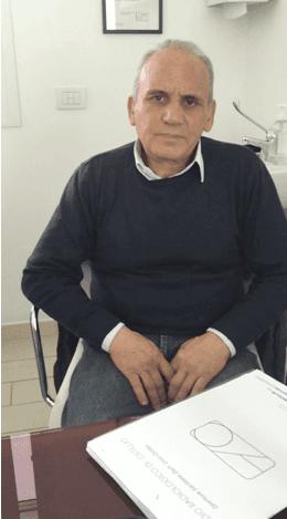 Paziente R. S. anni 59