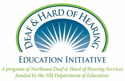deaf and hard of hearing education initiative logo