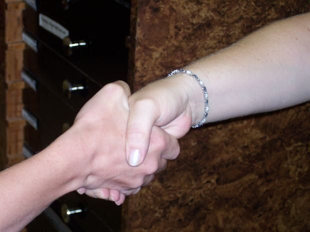 Stock Photo of hand shake
