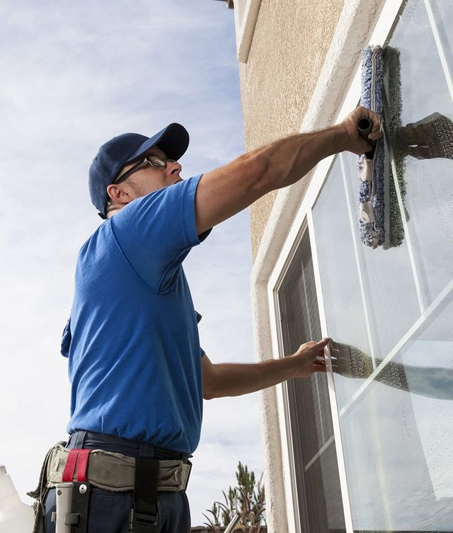 commercial window washing
