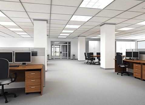 office carpet area cleaning
