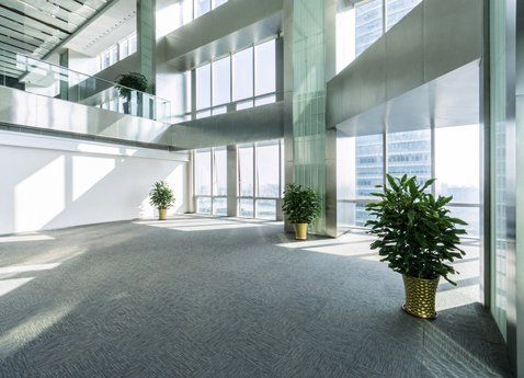 office interiors cleaning