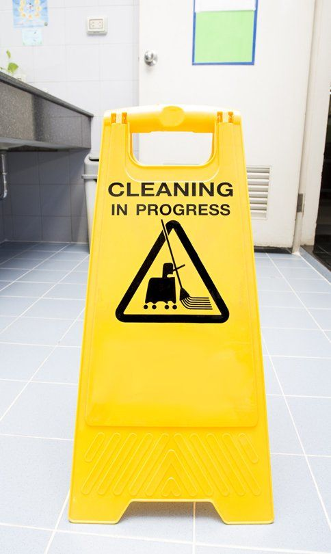 washroom cleaning