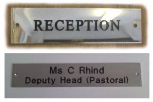 Office and business signs