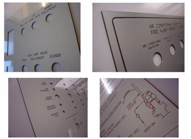 Control panel fascias