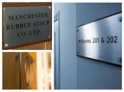 Personalised engraved nameplates