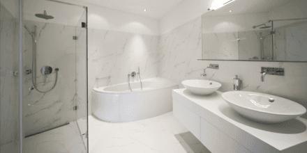 superior quality bathroom installation