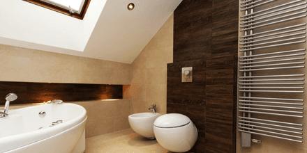 bathroom interiors