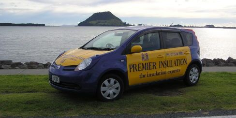 Premier Insulation service car