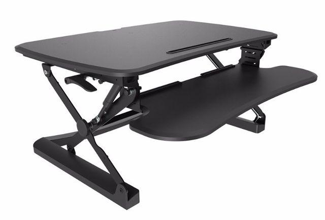 flair office furniture height adjustable desks work fit s 1x screen