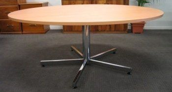 round delta boardroom table