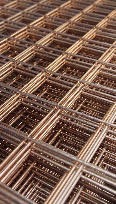 galvanised mesh panels