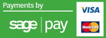 Visa, Mastercard, sage pay