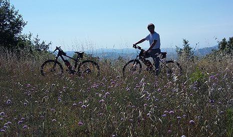 Noleggio biciclette in Umbria