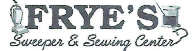 Frye's Sweeper & Sewing - Janome Lineup